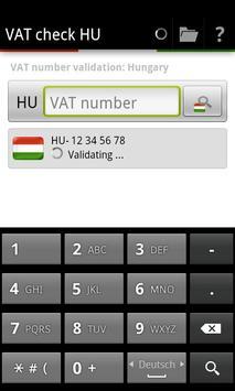 VAT check HU poster