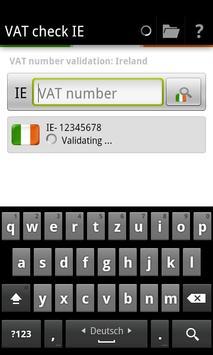 VAT check IE poster