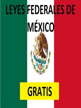 Leyes Federales de México poster