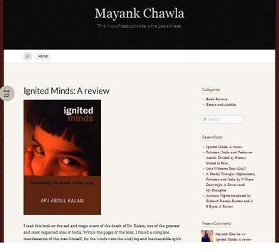 Mayank Chawla Blog apk screenshot