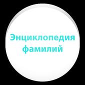 Энциклопедия русских фамилий icon