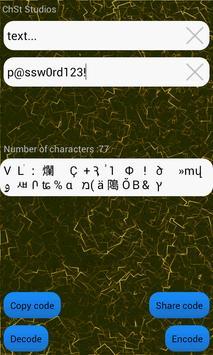 Text Encryptor apk screenshot
