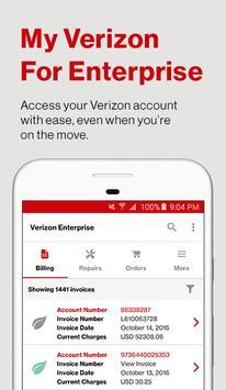 My Verizon For Enterprise poster