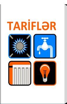 Tariflər poster