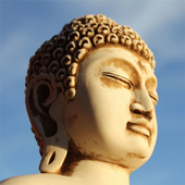 A quote from Buddha icon