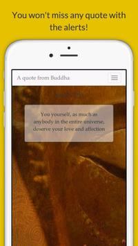 A quote from Buddha apk screenshot