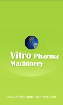 Vitro Pharma Machinery poster