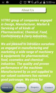 Vitro Pharma Machinery apk screenshot
