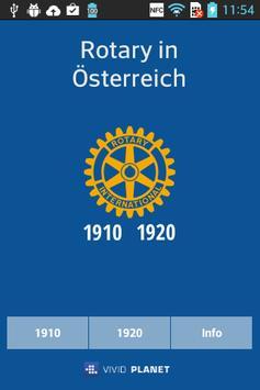 Rotary MGV - 1910 & 1920 poster