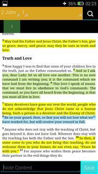 The Expanded Bible (EXB) apk screenshot
