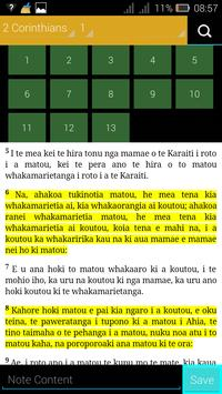 Māori Bible apk screenshot