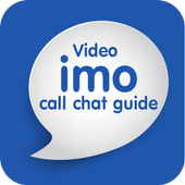 Video imo call chat guide icon