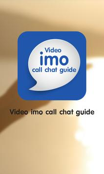 Video imo call chat guide poster