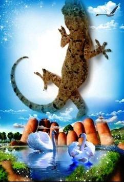 Lizard Fall poster