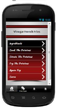 Vinegar French Fries poster
