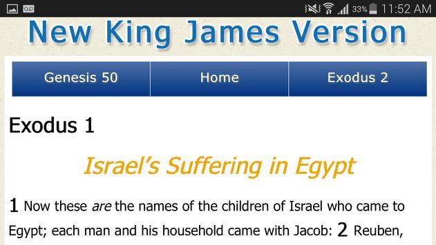 New King James Version Bible apk screenshot