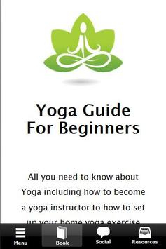 Yoga Guide For Beginners poster