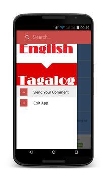 English Tagalog Dictionary New apk screenshot