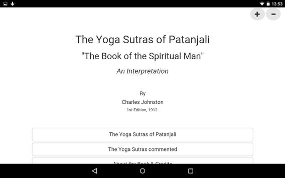 The Yoga Sutras Of Patanjali apk screenshot