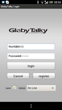 GlobyTalky - Connected Life poster