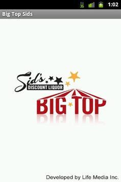 Big Top Sid's poster