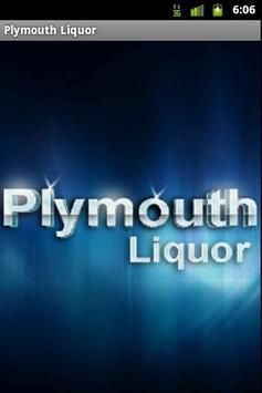 Plymouth Liquor poster