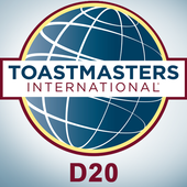 District 20 ToastMasters icon