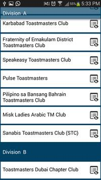 District 20 ToastMasters apk screenshot