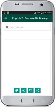 English To German Dictionary (Unreleased) apk screenshot