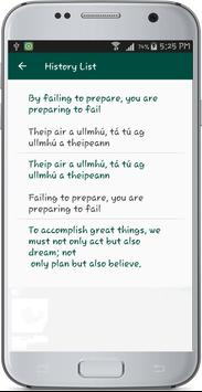 English Irish Translate apk screenshot