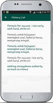 English Malay Translate apk screenshot