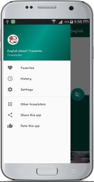 English Nepali Translate apk screenshot