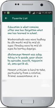 English Somali Translate apk screenshot