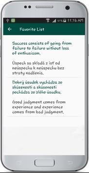 English Slovakia Translate apk screenshot