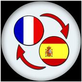 French Spanish Translate icon