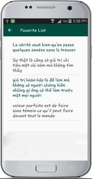 French Vietnamese Translate apk screenshot