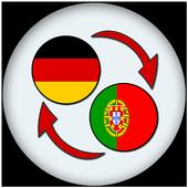 German Portuguese Translate icon
