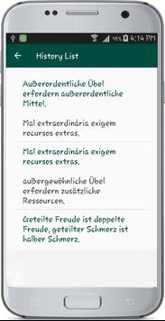 German Portuguese Translate apk screenshot