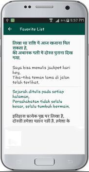 Hindi Indonesian Translate apk screenshot