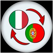 Italian Portuguese Translate icon