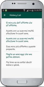Italian Romanian Translate apk screenshot