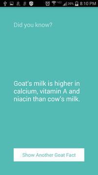 Fun Facts - Goat Edition! apk screenshot