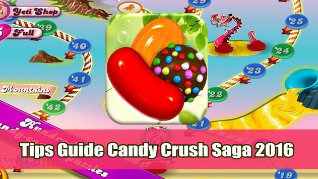 Tips Candy Crush Saga poster