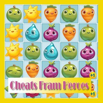 Cheats Fram Heroes Saga apk screenshot