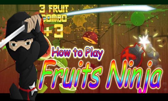 Guide: Fruit Ninja poster