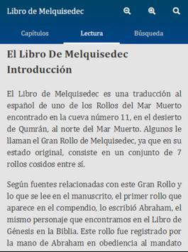 Libro de Melquisedec apk screenshot