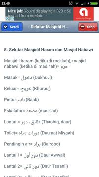 Bahasa Arab Untuk Jemaah Haji apk screenshot