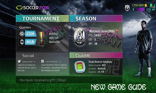 Guide: PES 2016 apk screenshot