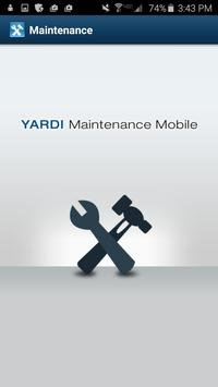 Yardi Maintenance Mobile poster