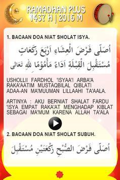 Ramadhan Plus 2016 apk screenshot